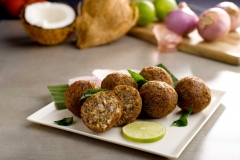 Deep Fried Chettinad Mutton Meatball