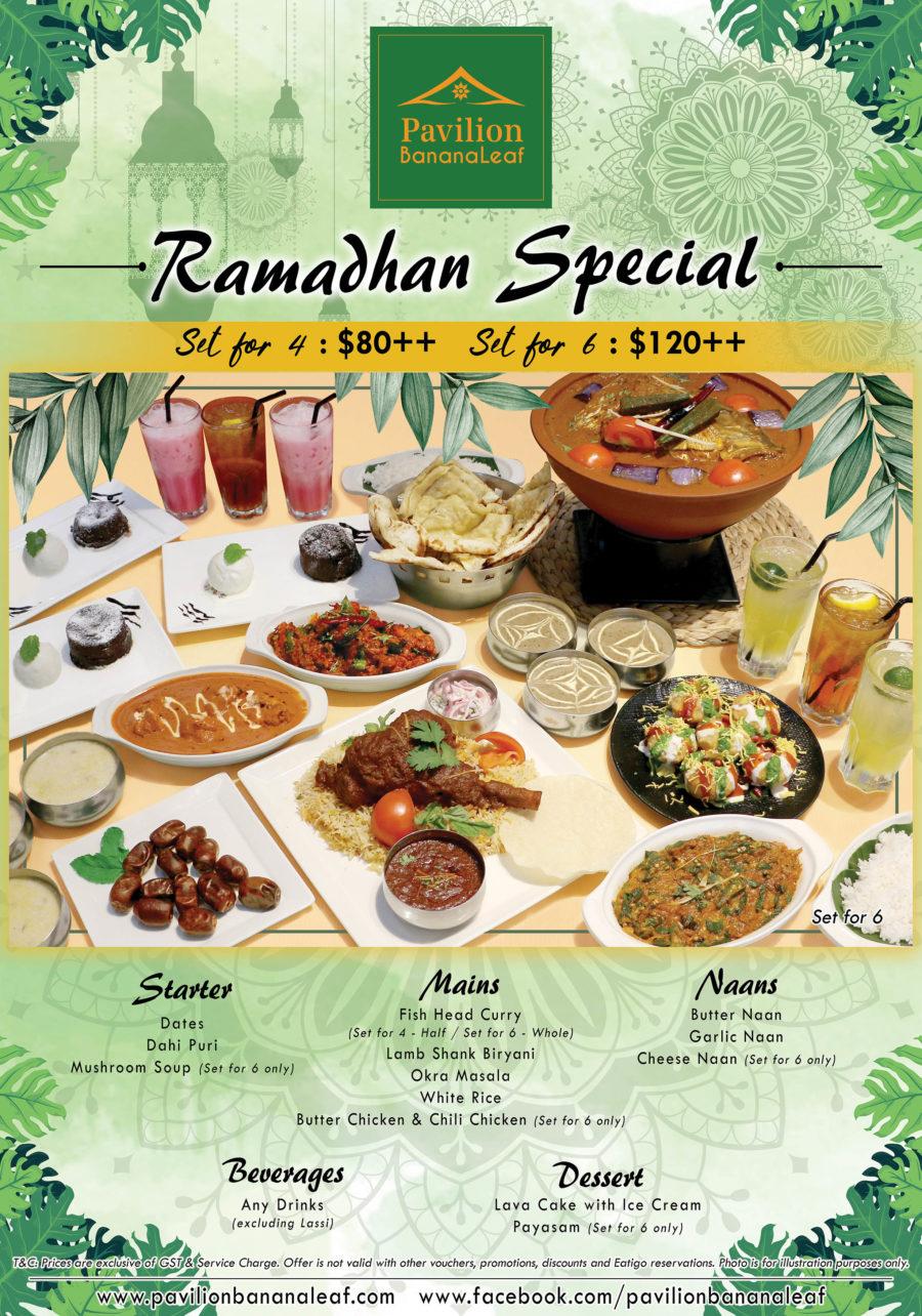 Ramadhan Special FB Graphic [Full Menu]